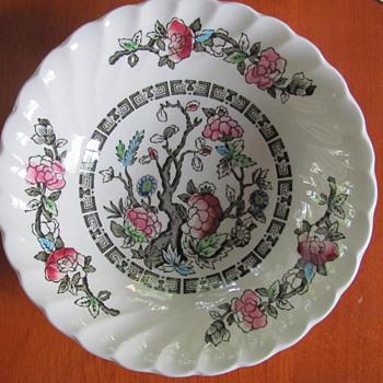 Myott Indian Tree (Fine Staffordshire Ware) Bowls. - China and Dinnerware