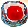 A favorite Murano Geode Bowl by Mandruzzato, ca. 1965-1970