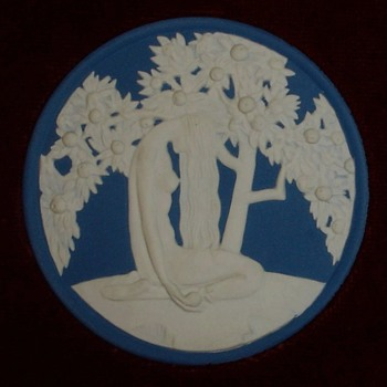 Wedgwood Deco Adam & Eve Plaques - China and Dinnerware