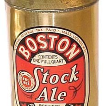 32 oz. QUART beer cans - Breweriana