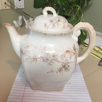 I am new to this and found this teapot and trying to idetify it. - China and Dinnerware