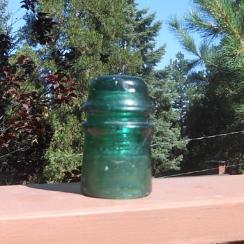 A.T.&T. Co. aka AT&T Glass Insulator CD 121 Circa 1900 - Tools and Hardware