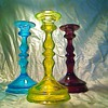 3 matching candle sticks