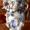 Sweet Porcelain Cherub Vase