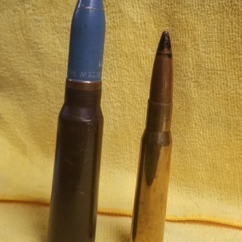 M220 - 20mm TP-T Cartridge **INERT** - Military and Wartime
