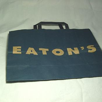 The T. EATON Co Limited, Winnipeg Paper Shopping Bag