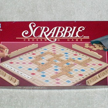 1989 - SCRABBLE Boardgame - Games