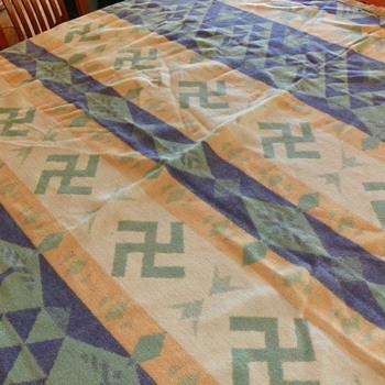 Antique Indian Blanket - Native American