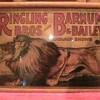 One of a Kind --- Original 1928 Vintage Ringling Brothers and Barnum and Bailey Circus Poster. - Posters and Prints