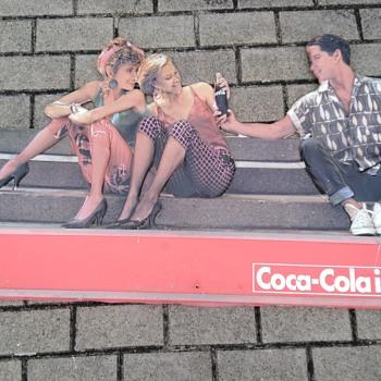 Coke sign vintage - Coca-Cola