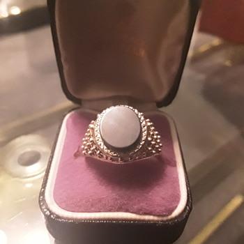 Black onyx ring - Fine Jewelry