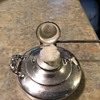 Silver candle snuff ?