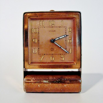 "LE COULTRE - SWISS  ""ALARM CLOCK"" - Clocks"