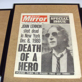 London Daily Mirror-Dec.10, 1980... - Music Memorabilia