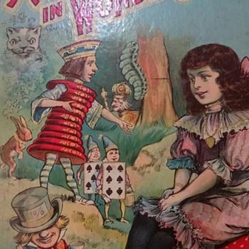 Vintage/Antique Alice in Wonderland book - Books