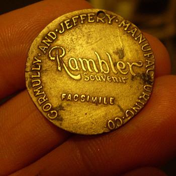 rambler bicycle medallion
