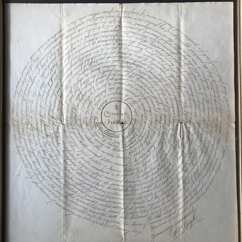 Amazing Circular Letter 1890 - Paper