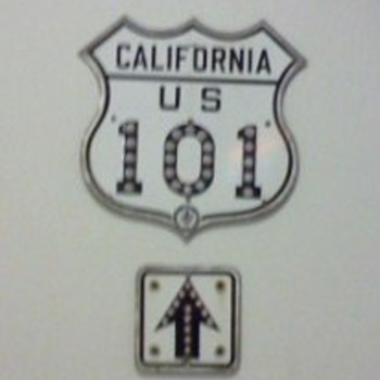 CA 101 Sign - Signs
