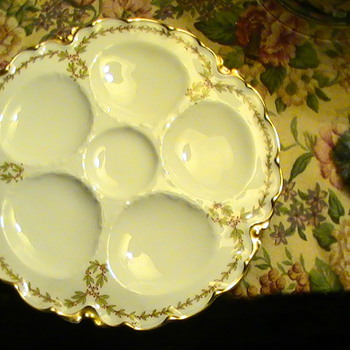 Haviland Oyster Plates - China and Dinnerware