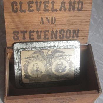 Cleveland for President, Stevenson for Vice President! - Politics