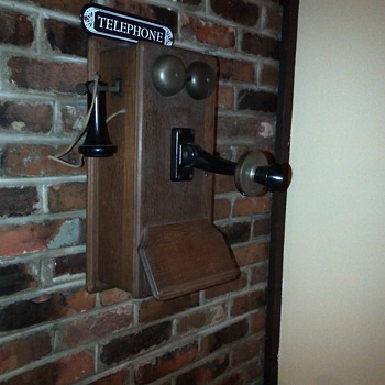 Western Electric Wooden Phone 1911 - Telephones