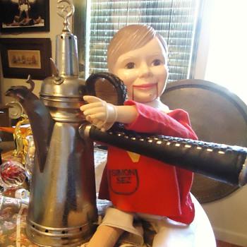 Coffee, Tea, With Me!  Simon Sez! Turkish coffee pot? 17.5 inches - Kitchen