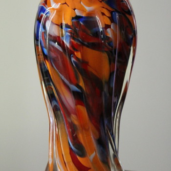 Another vase from Fukuoka (Multi) Glass - Art Glass