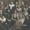 "Comedians Theatrical Troops ""Late XIX Century ""Mystery ???Who"