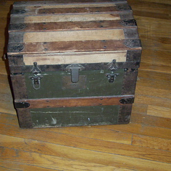 Small Trunk Refinished  - Furniture