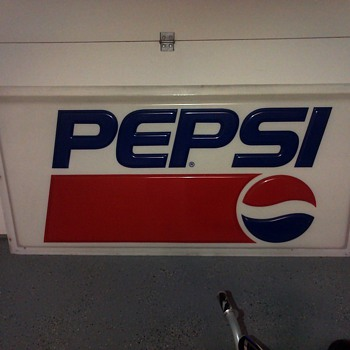 Early 90s Pepsi Sign