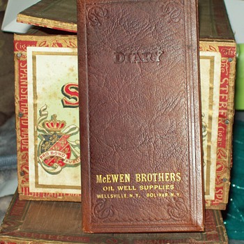 1930 Scheduler, McEwen Brothers Oil Well Supplies - Books
