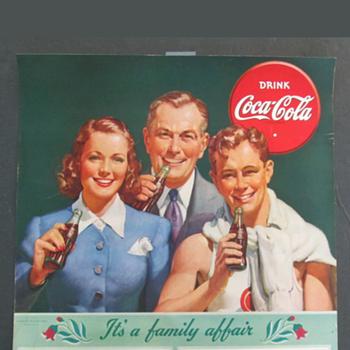1941 Coca Cola calendar top - Coca-Cola
