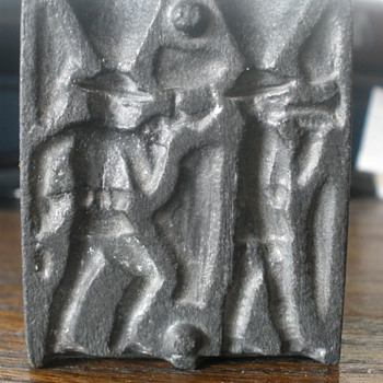 Toy lead soldier mold. Dug up in the woods!  - Tools and Hardware