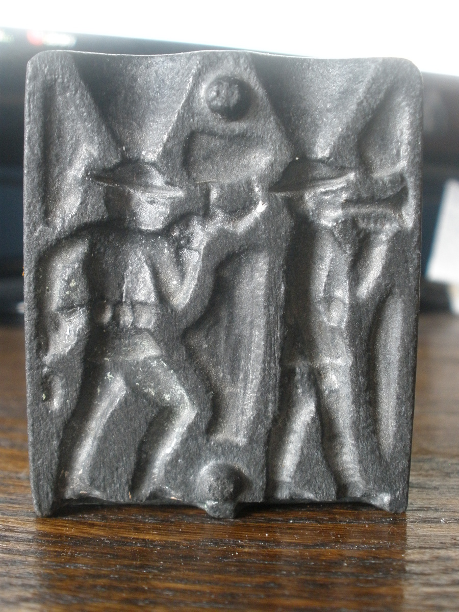 Toy lead soldier mold  Dug up in the woods! | Collectors Weekly