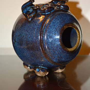 Stoneware Piggy Bank - Pottery