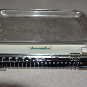 Vintage German made Zenith Scale