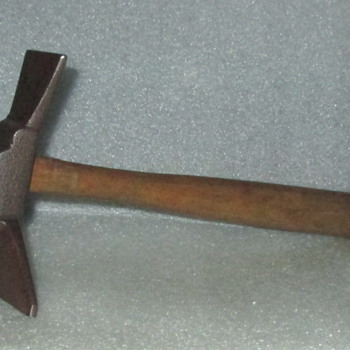 Antique Hand Forged Veneering Hammer
