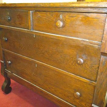 the other antique oak dresser   ;-) - Furniture