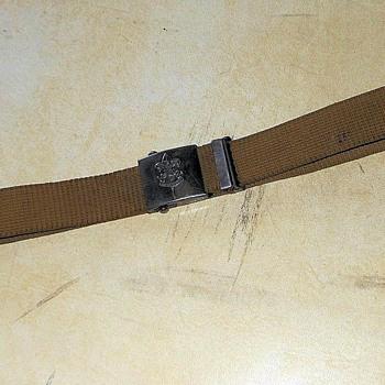 BoyScout Belt Patent 1931