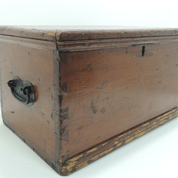 American Pine Document/File Box in Pine - Office