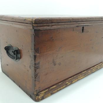 American Pine Document/File Box in Pine