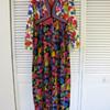 Goldworm Vintage 60's 70's Maxi Dress