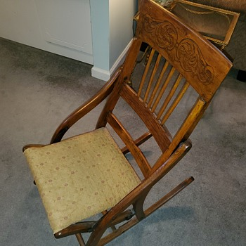 Fantastic Antique And Vintage Rocking Chairs Collectors Weekly Ocoug Best Dining Table And Chair Ideas Images Ocougorg