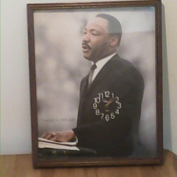 Dr. King Wall clock - Politics