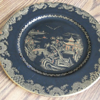 Crown Staffordshire Plate Help With Dating