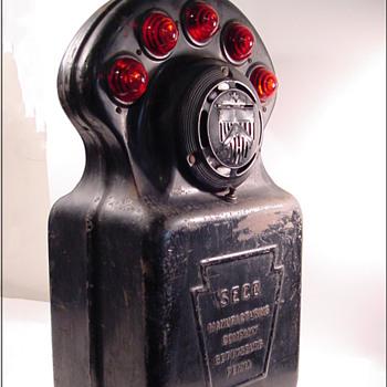 Railroad Emergency Signal Box