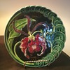 Recently purchased Art Nouveau Majolica plate
