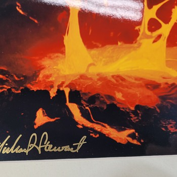 Photograph Of Lava by Michael Stewart - Photographs