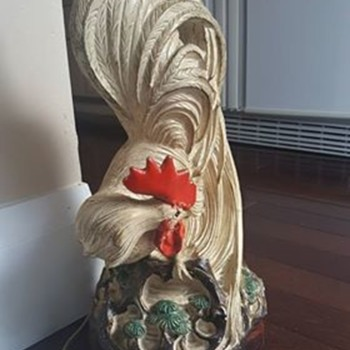 Rooster Lamp By Barbara Baldwin - Lamps