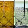 Pressed window glass